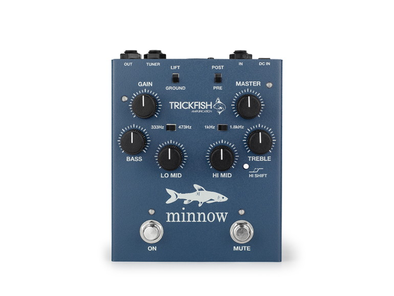 Trickfish Minnow Single Channel Bass Preamp