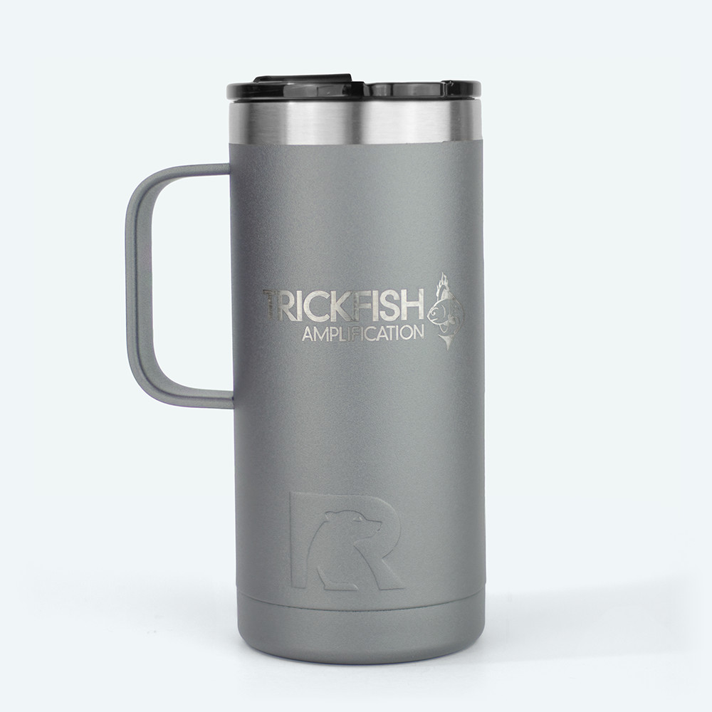 Trickfish 16oz Travel Coffee Mug