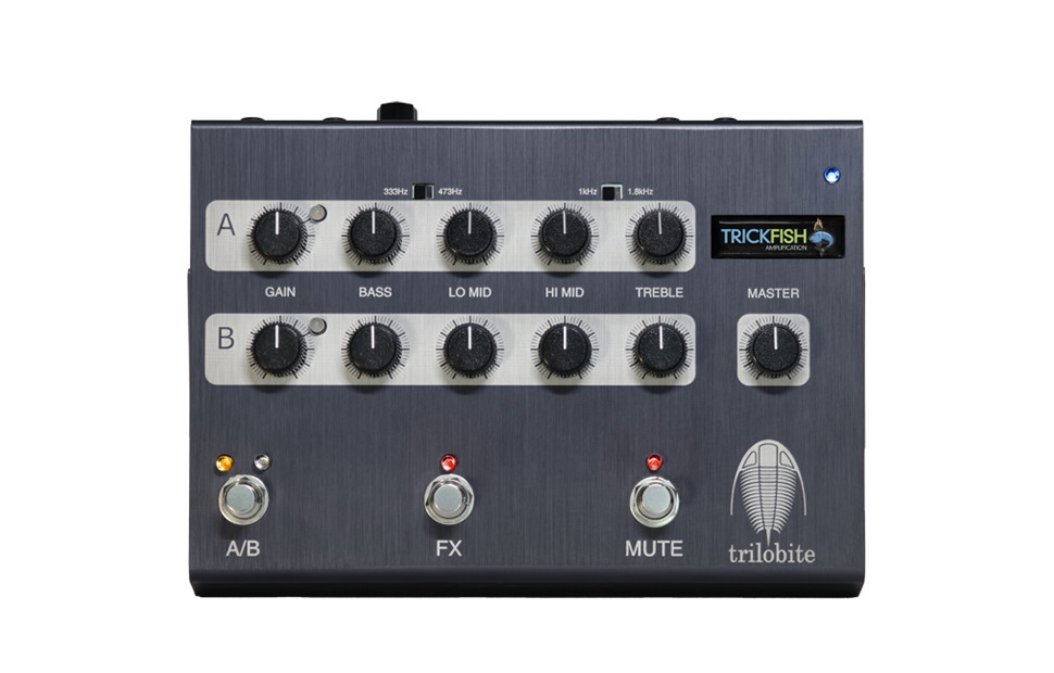 Trickfish Trilobite Dual Channel Bass Preamp